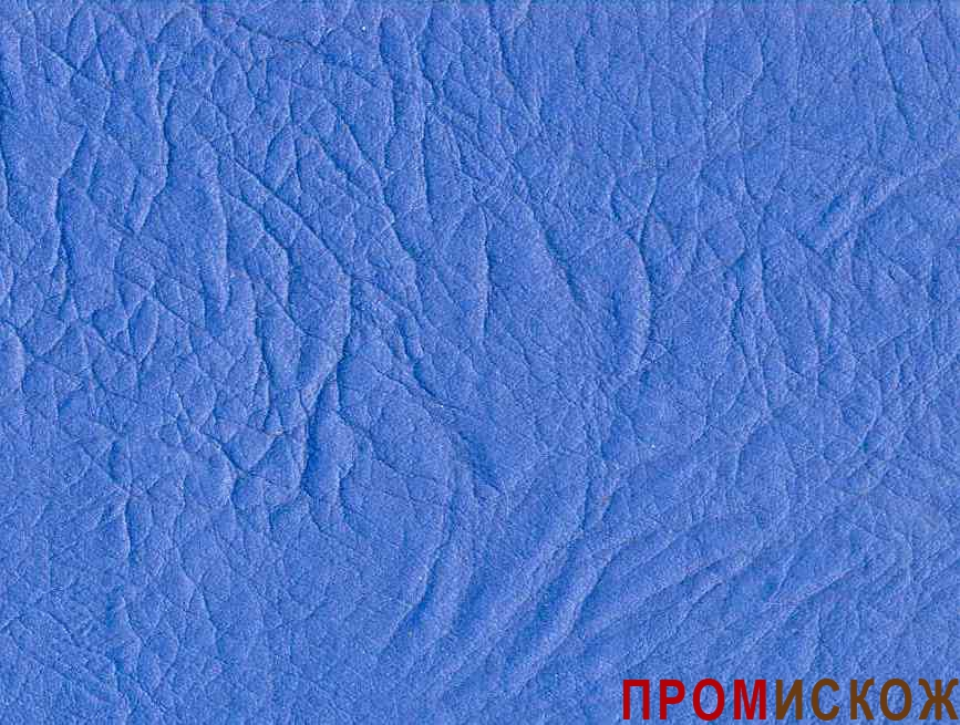 Искожа мебельная на трикотажной основе 14 гр. синяя 087(4934) недорого