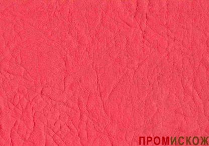 Винилискожа на трикотажной основе 14 гр. красная 338(4934) купить