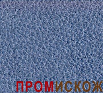 ЭКОКОЖА РОССИЙСКАЯ ВОЛЖАНКА серо-голубой